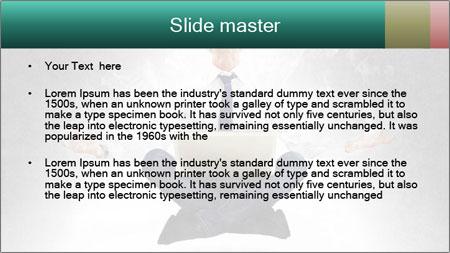 Yoga businessman PowerPoint Template - Slide 2
