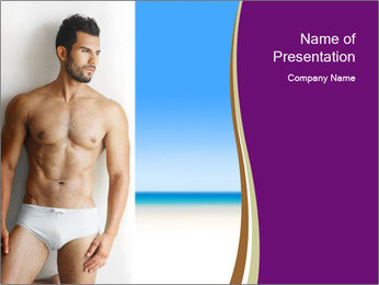 Sexy portrait PowerPoint Template - Slide 1