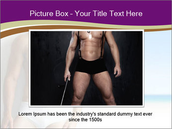 Sexy portrait PowerPoint Template - Slide 15