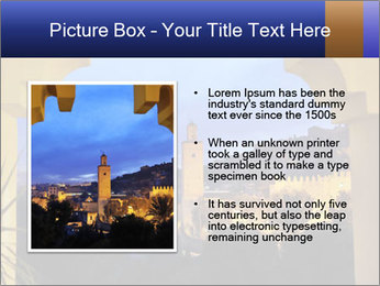 Morocco at night PowerPoint Template - Slide 13