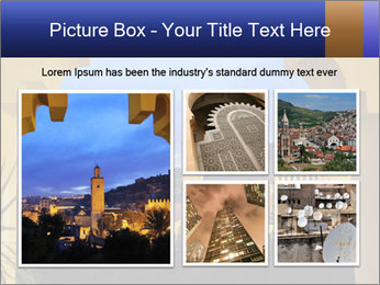 Morocco at night PowerPoint Template - Slide 19