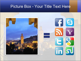 Morocco at night PowerPoint Template - Slide 21