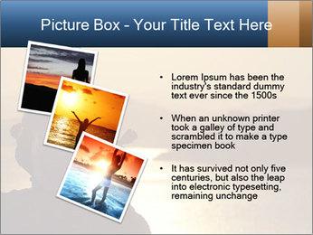 Guy meditating PowerPoint Template - Slide 17