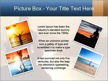 Guy meditating PowerPoint Template - Slide 24