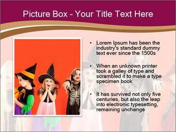 Halloween costumes PowerPoint Template - Slide 13