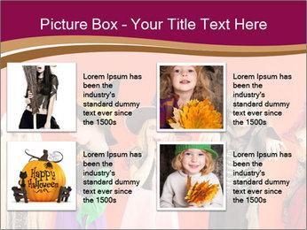 Halloween costumes PowerPoint Template - Slide 14