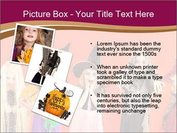 Halloween costumes PowerPoint Template - Slide 17