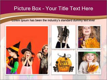 Halloween costumes PowerPoint Template - Slide 19