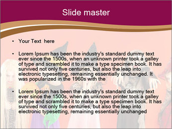 Halloween costumes PowerPoint Template - Slide 2
