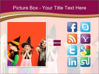 Halloween costumes PowerPoint Template - Slide 21