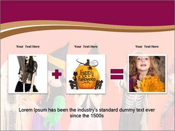 Halloween costumes PowerPoint Template - Slide 22