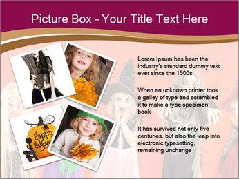 Halloween costumes PowerPoint Template - Slide 23
