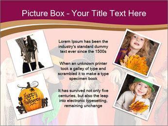 Halloween costumes PowerPoint Template - Slide 24