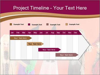 Halloween costumes PowerPoint Template - Slide 25