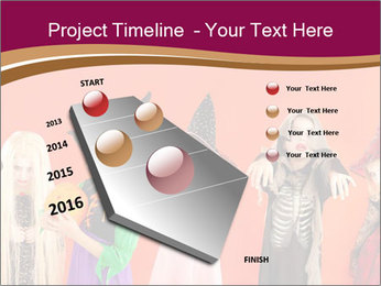 Halloween costumes PowerPoint Template - Slide 26