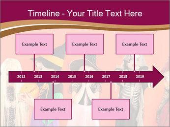 Halloween costumes PowerPoint Template - Slide 28