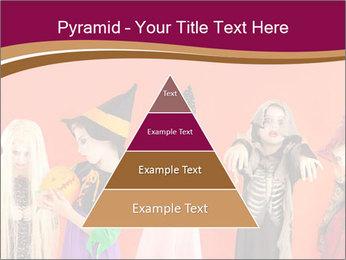 Halloween costumes PowerPoint Template - Slide 30