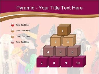 Halloween costumes PowerPoint Template - Slide 31