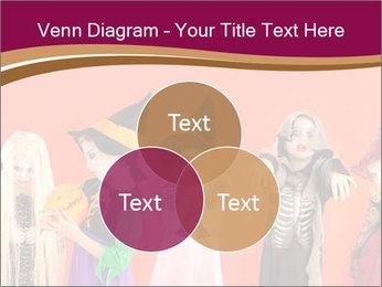 Halloween costumes PowerPoint Template - Slide 33