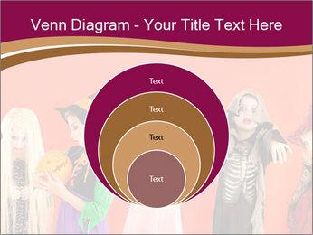 Halloween costumes PowerPoint Template - Slide 34