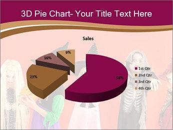 Halloween costumes PowerPoint Template - Slide 35