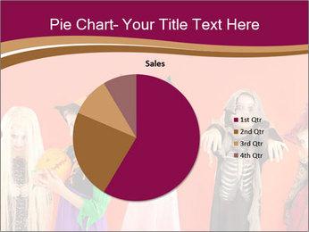 Halloween costumes PowerPoint Template - Slide 36