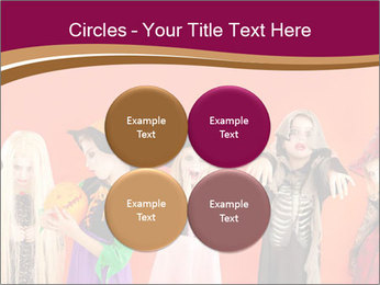 Halloween costumes PowerPoint Template - Slide 38