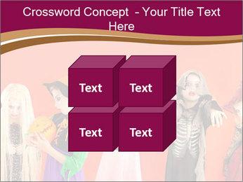 Halloween costumes PowerPoint Template - Slide 39