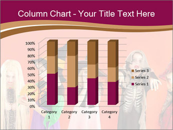Halloween costumes PowerPoint Template - Slide 50