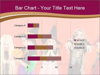 Halloween costumes PowerPoint Template - Slide 52