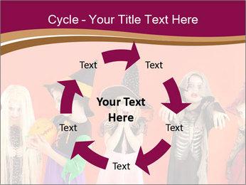 Halloween costumes PowerPoint Template - Slide 62