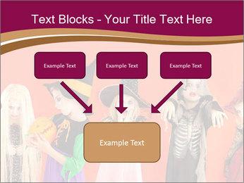 Halloween costumes PowerPoint Template - Slide 70
