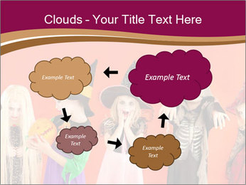 Halloween costumes PowerPoint Template - Slide 72