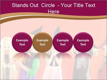 Halloween costumes PowerPoint Template - Slide 76