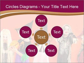 Halloween costumes PowerPoint Template - Slide 78