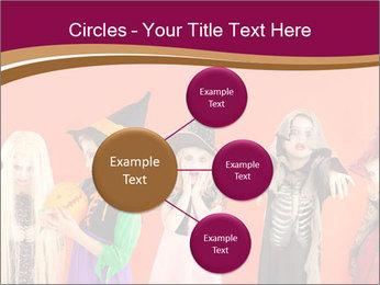 Halloween costumes PowerPoint Template - Slide 79
