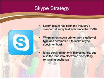 Halloween costumes PowerPoint Template - Slide 8