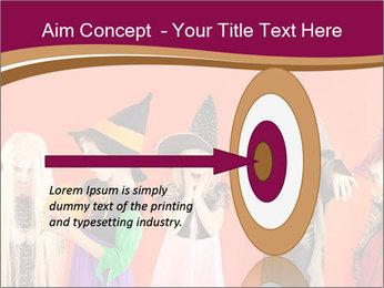 Halloween costumes PowerPoint Template - Slide 83