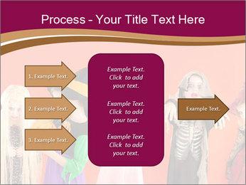 Halloween costumes PowerPoint Template - Slide 85