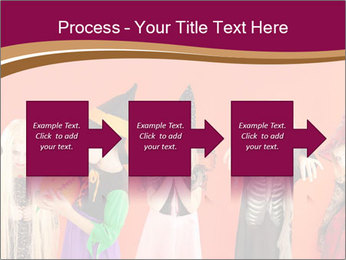 Halloween costumes PowerPoint Template - Slide 88