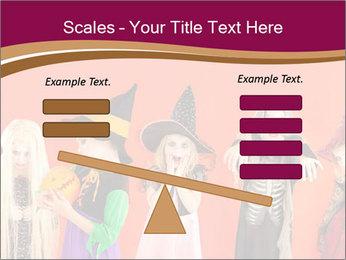 Halloween costumes PowerPoint Template - Slide 89