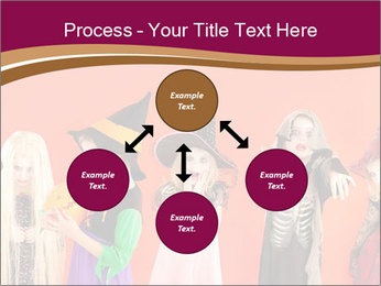 Halloween costumes PowerPoint Template - Slide 91