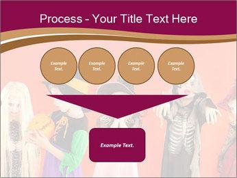 Halloween costumes PowerPoint Template - Slide 93