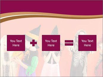 Halloween costumes PowerPoint Template - Slide 95