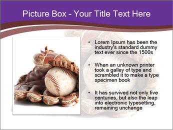 Baseball glove PowerPoint Template - Slide 13