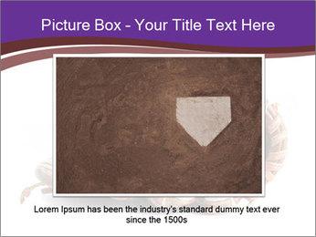 Baseball glove PowerPoint Template - Slide 15