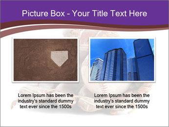 Baseball glove PowerPoint Template - Slide 18
