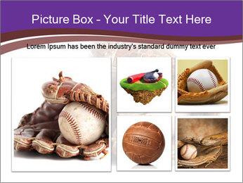 Baseball glove PowerPoint Template - Slide 19