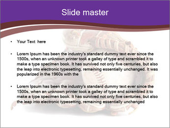 Baseball glove PowerPoint Template - Slide 2