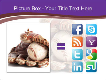 Baseball glove PowerPoint Template - Slide 21